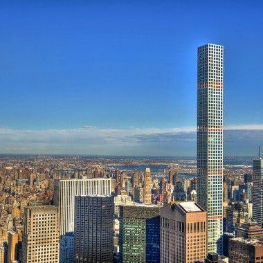 纽约市最高的住宅楼,第一个使用14000 PSI白色优德app