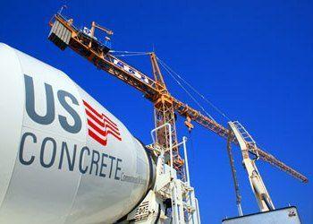 U.S. Concrete Logo on Truck
