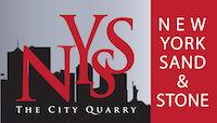 Logo for New York Sand & Stone