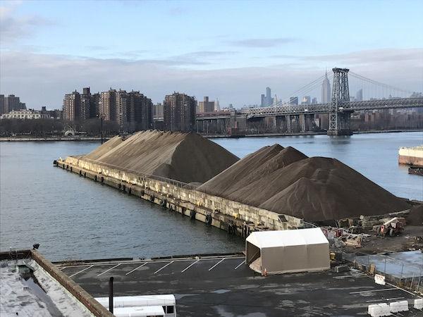 纽约的沙子