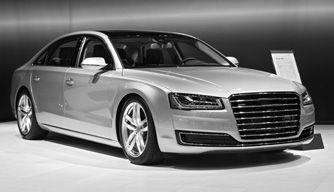 Audi monochrome