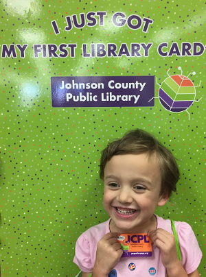 I Just Got My First Library Card