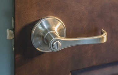 STANDARD INTERIOR LEVER HANDLE-BRUSHED NICKEL