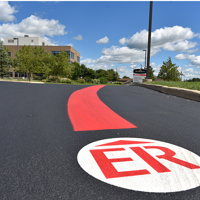 Emergency Room Road Graphic