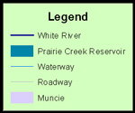 White River Headwaters legend image