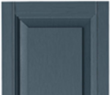 STANDARD RAISED PANEL SHUTTER - DARK NAVY