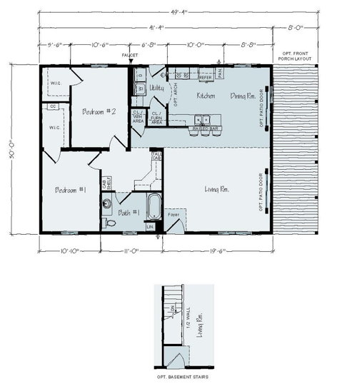 Floorplan of Kimberly