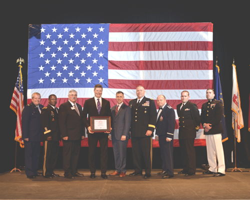 Batesville Receives Freedom Award Nomination for Exemplary Support of                                          National Guard and Reserve Members