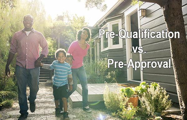Pre-Qualification vs Pre-Approval