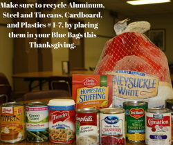 Recycling Tips for Thanksgiving