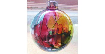 Image for Alcohol Ink Ornaments