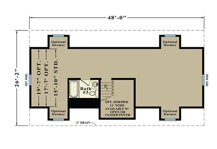 Second Floor Blueprint for Sterling