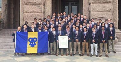 Image for Reinstallation Ceremony held for Texas Chapter