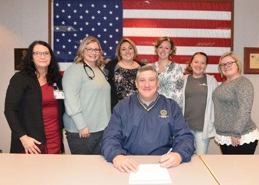 DeKalb Health NPs Met With State Rep. Ben Smaltz In Honor Of National Nurse Practitioner Week