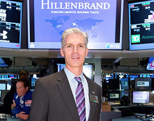 Hillenbrand CEO says company focuses on attracting top talent