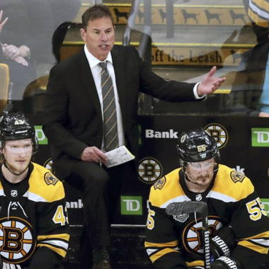 Image for Bruins' Bruce Cassidy Rips Refs, Says Officiating Has Been a 'Black Eye' for NHL
