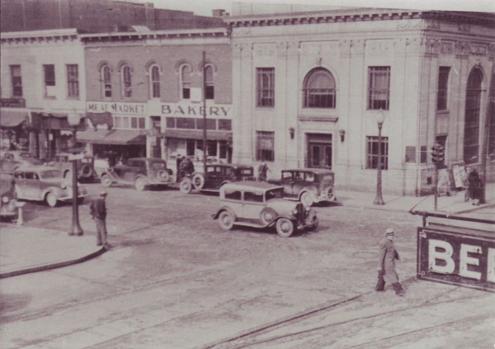 Citizens State Bank New Castle in 1938
