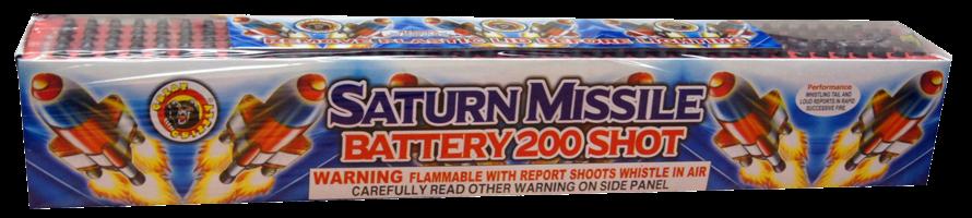 Image of Saturn Missile 200 shots