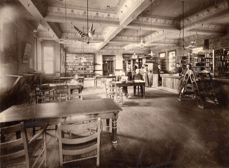 Anderson Library at the Masonic Temple, pre-1905