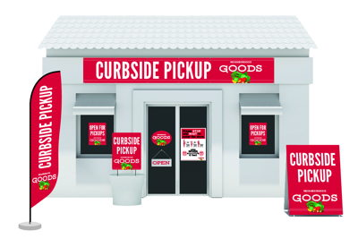 Curbside Pickup Signage Solutions