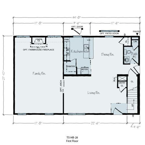 Floorplan of Seagull Series