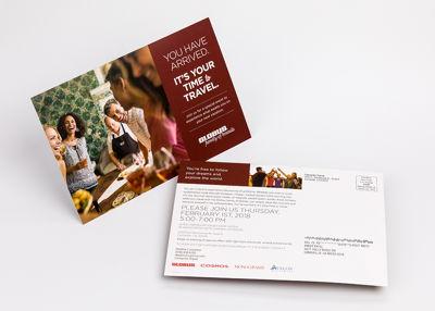 Globus Direct Mail Postcard