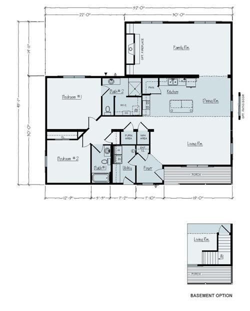 Floorplan of Sandusky Series