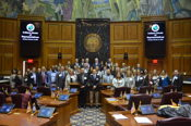 Zay meets with Indiana Bankers Association