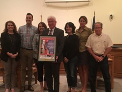 Batesville leaders recognized for support of 'Star Spangled Symphony'