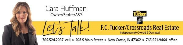 Cara Huffman Owner/Broker/ASP with F.C. Tucker/Crossroads Real Estate