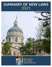 2021 Summary of New Laws - Sen. Garten
