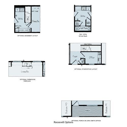 Floorplan of Roosevelt Series