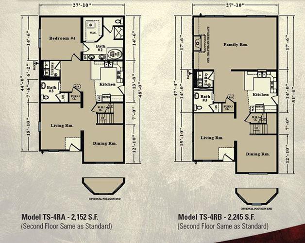 Second Floor Blueprint for Tenton