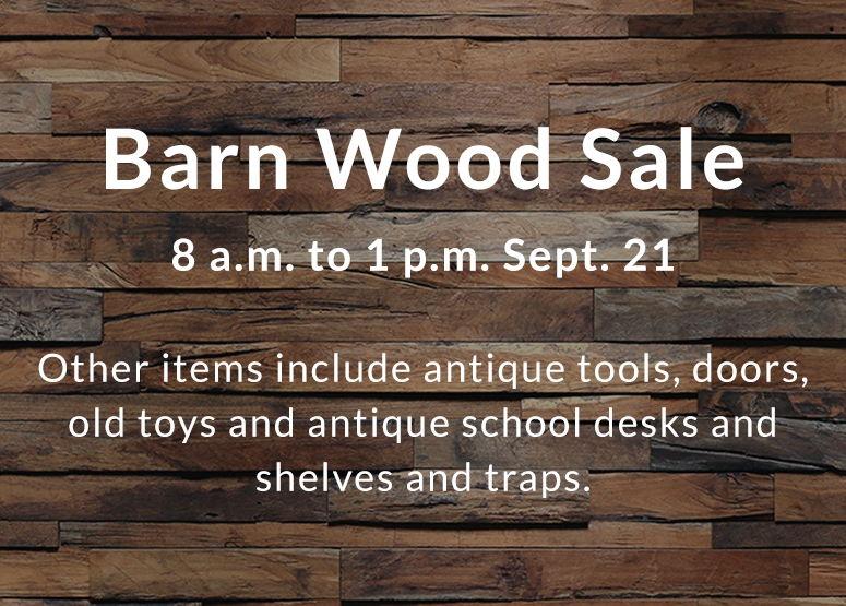 Image for Latest Big News Barn Wood Sale