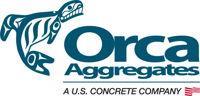 Logo for Orca Aggregates   Long Beach