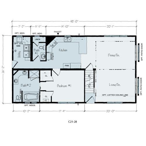 Floorplan of Aurora