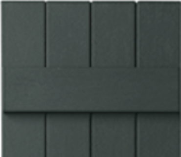 OPTIONAL BOARD & BATTEN SHUTTER - BLACKWATCH GREEN