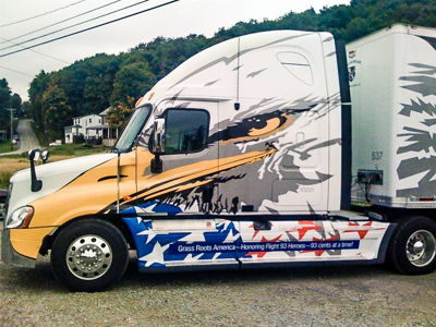 Truck Cab Wrap