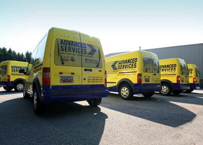 Delivery Trucks Fleet Wrap