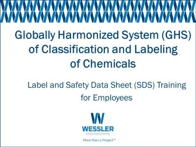 GHS of Classification and Labeling of Chemicals