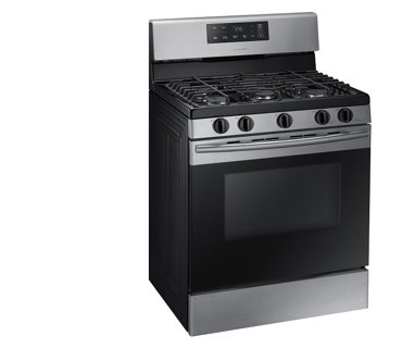 Samsung NX58K3310SS Stainless Gas Range