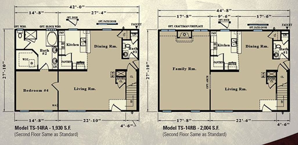 Second Floor Blueprint for Seagull