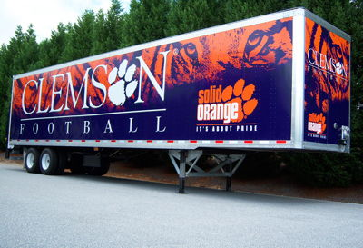 Clemson Fleet Graphics
