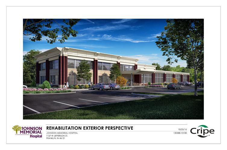 Exterior Rendering of Future Rehabilitation Facility