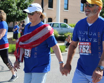 Memorial Day Mile race/walk and service