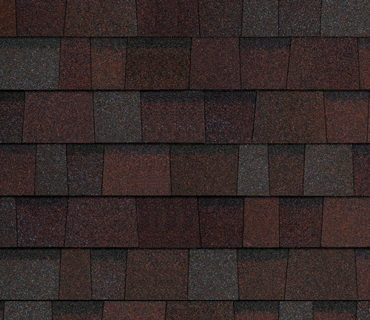 OPTIONAL DESIGNER SHINGLES-MERLOT