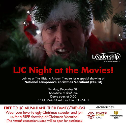 Leadership Johnson County Holiday Movie Nght