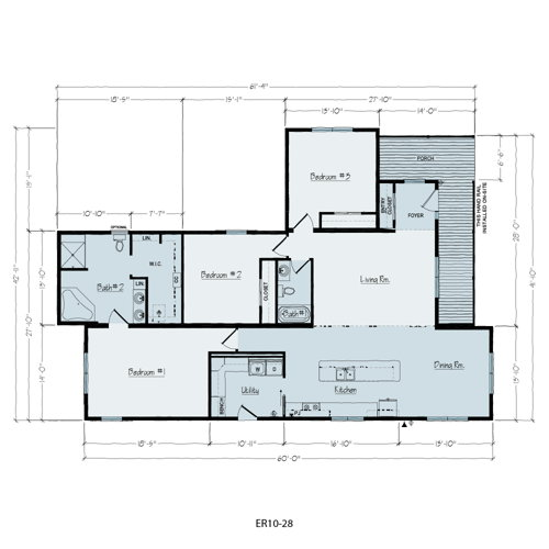Floorplan of Tyler