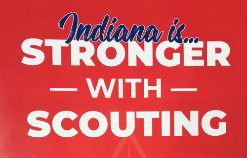 Image for Indiana is...Stronger with Scouting
