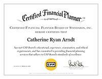 Kate Arndt, CFP® | CFP Certificate | Bedel Financial